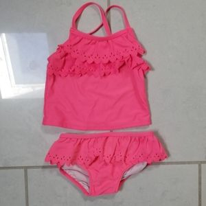 Carters 24 m two piece bathing suit